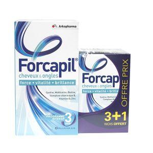 Arkopharma Forcapil cheveux et ongles - 240 Gélules