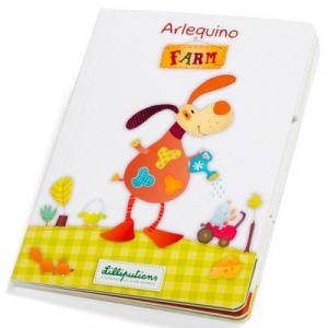 Lilliputiens Livre-jeu Arlequino ferme (Sans texte)