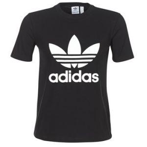Adidas T-shirt TREFOIL TEE Noir - Taille FR 34,FR 36,FR 38,FR 40,FR 42