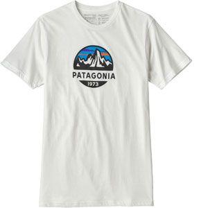 Patagonia Fitz Roy Scope Organic T-Shirt pour Homme XL Blanc