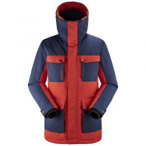 Lafuma Lapland Warm Parka M Veste Homme, Vibrant Red/Eclipse Blue, FR : L (Taille Fabricant : L)