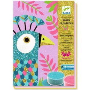 Djeco Sables colorés : Ébouissants oiseaux