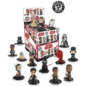 Funko Figurine Star Wars Les Derniers Jedi Mystery Minis - 1 Boîte Au Hasard / One Random Box
