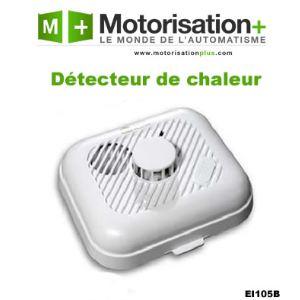 Ei Electronics EI105B - Détecteur de fumée avec capteur optique (certifications CE et NF)
