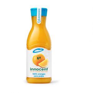 Innocent Jus d'orange sans pulpe, 100% pur jus - La bouteille de 900ml