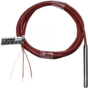 Emko Capteur de température RTS-M06-L060-K02 Type de sonde Pt100 Gamme de mesure 50 à +200 °C Longueur du câble 2 m 1