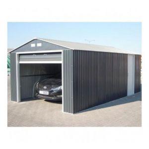Garage métal Grande Hauteur Duramax Anthracite 3,50 x 5,70 x2,6