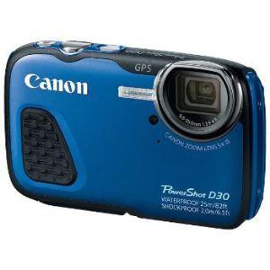Canon PowerShot D30 étanche avec GPS intégré