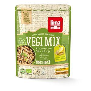 Lima Végi Mix Gingembre Riz Sauvage Soja 250g