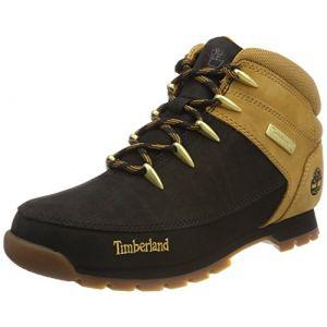 Timberland Euro Sprint Hiker, Bottes Chukka Homme, Noir (Black/Wheat 015), 42 EU
