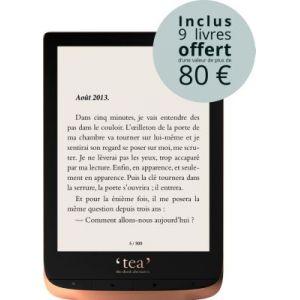 Tea Livre electronique Touch HD + Pack d'ebooks OFFERT