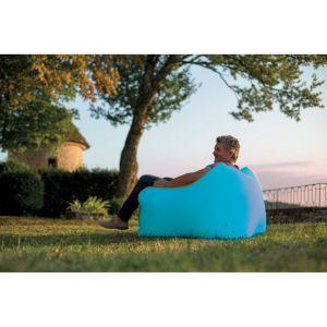 Fauteuil gonflable WindBag Mini Bleu - JARDIDECO