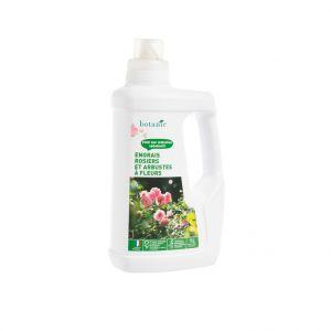 Engrais rosiers et arbustes à fleurs 1L botanic®