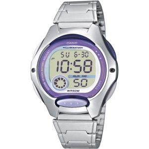 Casio LW-200D - Montre pour femme Digitale avec bracelet en acier
