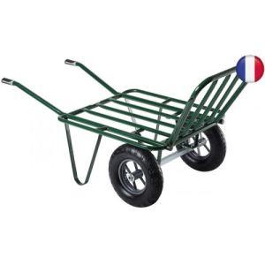 Haemmerlin 302075701 - Brouette Agricola 2 roues gonflées