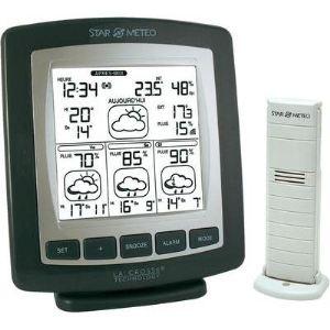 Tfa dostmann lumax station m t o temp rature for Station meteo temperature interieure et exterieure