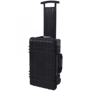VidaXL Valise à outils coffre multifonctionnel avec mousse à l'intérieur