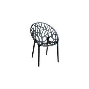 Crystal - 4 chaises en polycarbonate