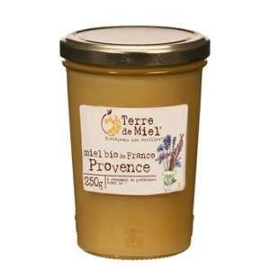 Terre de miel Miel de Provence bio France 250g