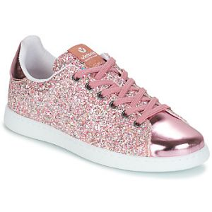 Victoria Baskets basses TENIS GLITTER rose - Taille 38,40