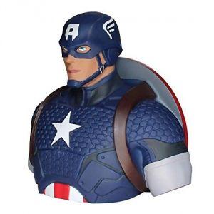 Semic Distribution Tirelire Marvel Deluxe Captain America