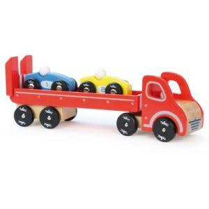 Vilac Camion porte-voitures avec 2 véhicules