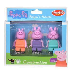 PlayBIG Bloxx Peppa Pig - Adultes