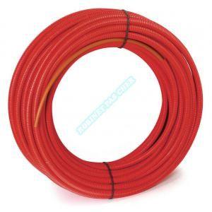 Comap Tube PER gainé rouge 12x1,1 - 60m - B622004002