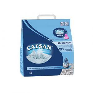 Catsan Hygiène Plus 5 L - Litière pour chat