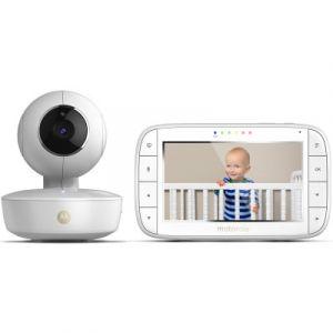 Motorola MBP55 - Ecoute bébé vidéo avec écran 5.0 et caméra portable