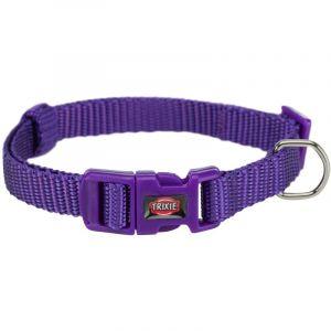 Trixie Premium collier taille S D25-40cm H15mm violet