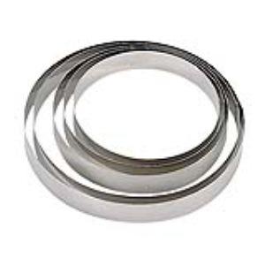 De Buyer 3989.07 - Cercle à pâtisserie en inox (7 cm)