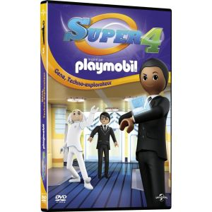 Playmobil Super 4 - Vol. 5 : Gene Techno-explorateur