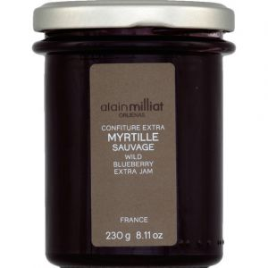 Alain Milliat Confiture extra myrtille sauvage - Le bocal de 230g