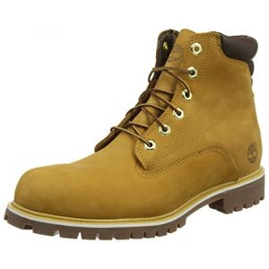 Timberland 6 In Basic, Bottes Classiques homme, Jaune (Wheat), 42 EU