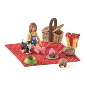 Schleich Figurine pique-nique anniversaire 42426