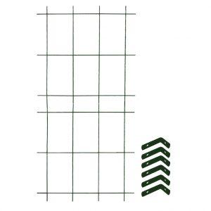 Louis Moulin Treillage colonne 2 éléments + 6 équerres fixations 1,60 x 75