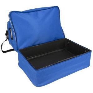 Avento Sac de sport - Bleu - Bleu - 100% polyester déperlant - Compartiment à chaussures - Renforcement PVC