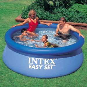 Intex 56970FR - Piscine hors sol autostable Easy Set ronde Ø 244 x 76 cm