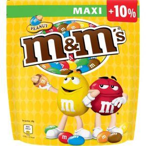 M&m's Peanut pochon 500g +10% - Le pochon de 500g + 10% gratuit
