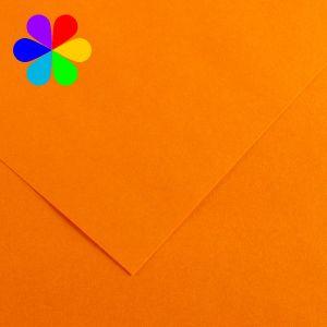 Canson 200040785 - Feuille Iris Vivaldi A4 240g/m², coloris clémentine 8