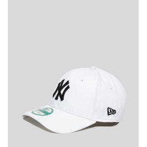 New Era 9Forty League Basic NY Yankees White/Black Cap