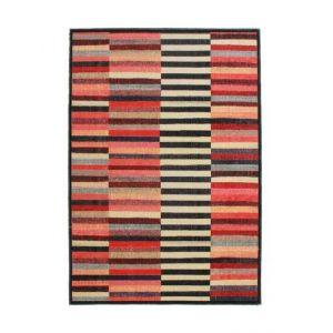Alecto STRIPES Tapis intérieur et extérieur - 120 x 170 cm - Multicolor - Polypropylène