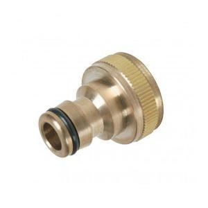 """Silverline 598438 - Nez de robinet en laiton 3/4"""" - 1/2"""""""