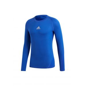 Adidas Alphaskin Shirt Homme, Bold Blue, FR : L (Taille Fabricant : L)