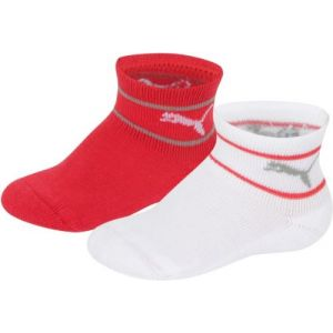 Puma Chaussettes -underwear Baby Mini Cats Lifestyle Terry 2 Pack - White / Grey - EU 23-26
