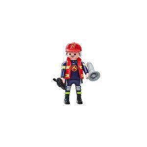 Playmobil 6585 - Chef Pompier Equipe B - Emballage Plastique, Pas de boîte