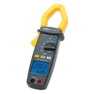 metrix Pince ampèremétrique, Multimètre MX0670 Etalonnage: d'usine sans certificat CAT III 1000 V, CAT IV 600 V