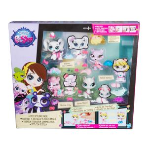 Hasbro Coffret 4 Petshop à customiser