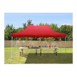 Intent24 Tente de Réception Rouge 3 x 4,5 m